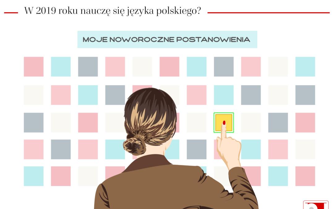 W tym roku nauczę się języka polskiego