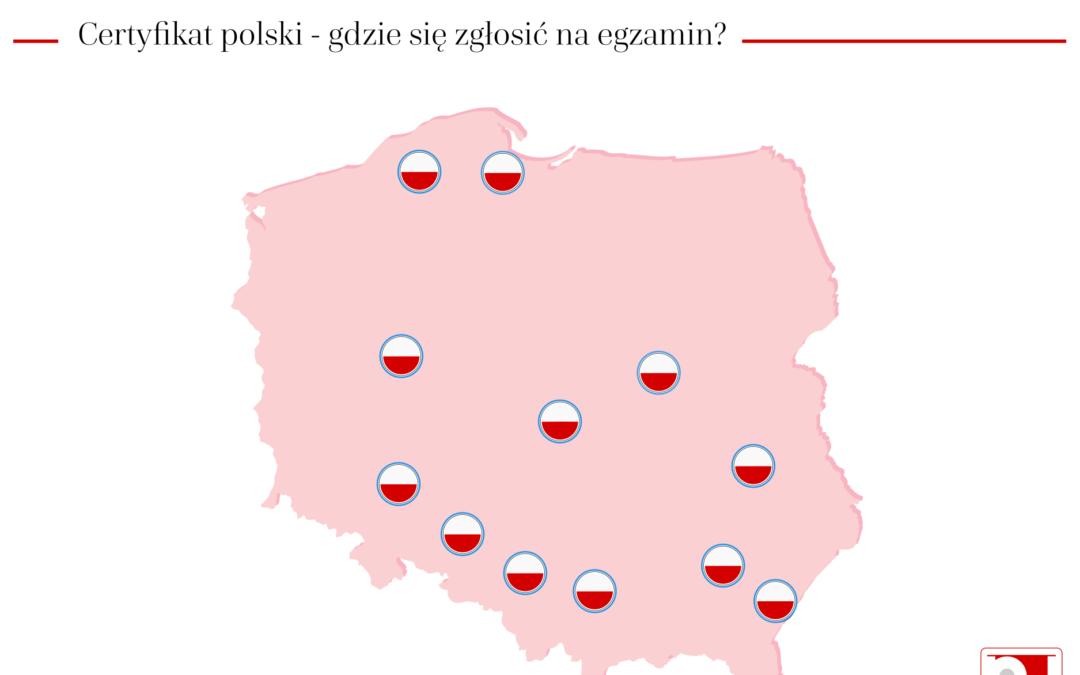 Gdzie się zgłosić na egzamin państwowy z języka polskiego w czerwcu 2019?